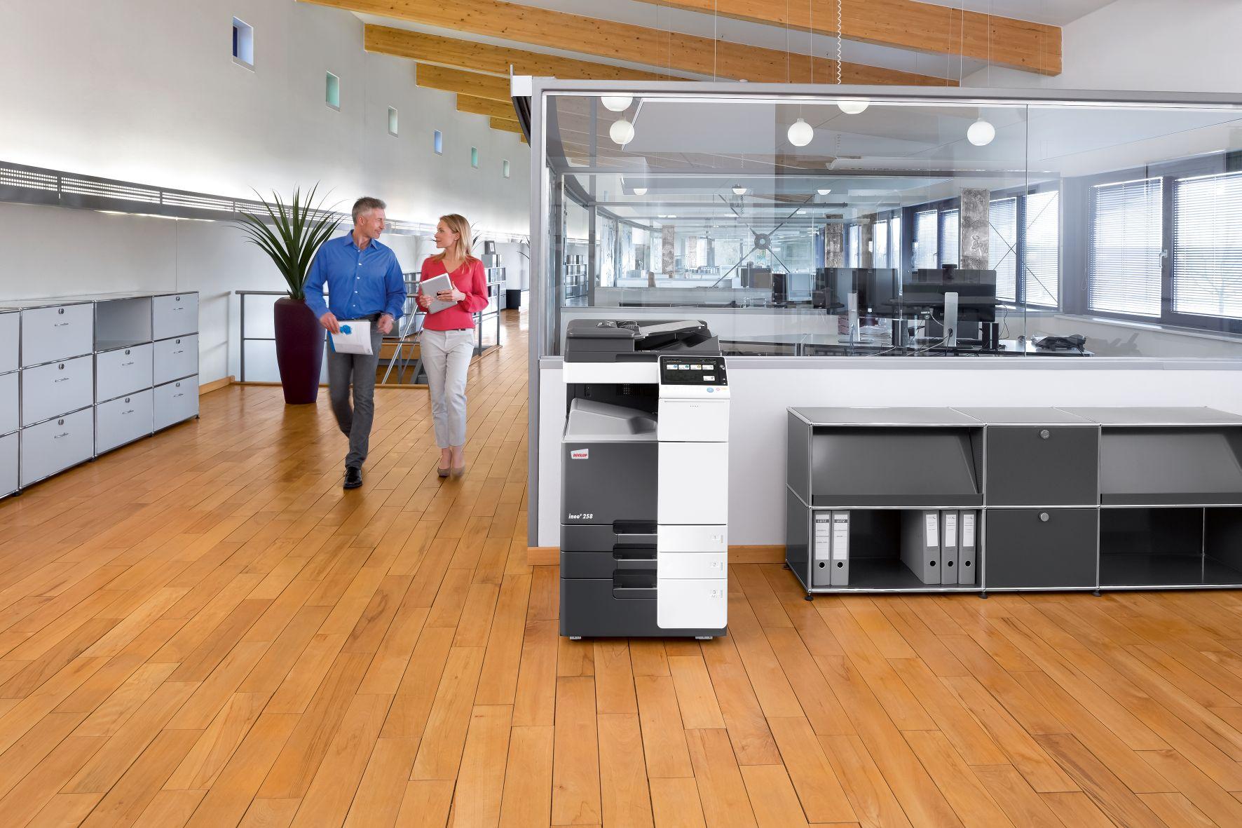 Impresora ineo 258 en oficina