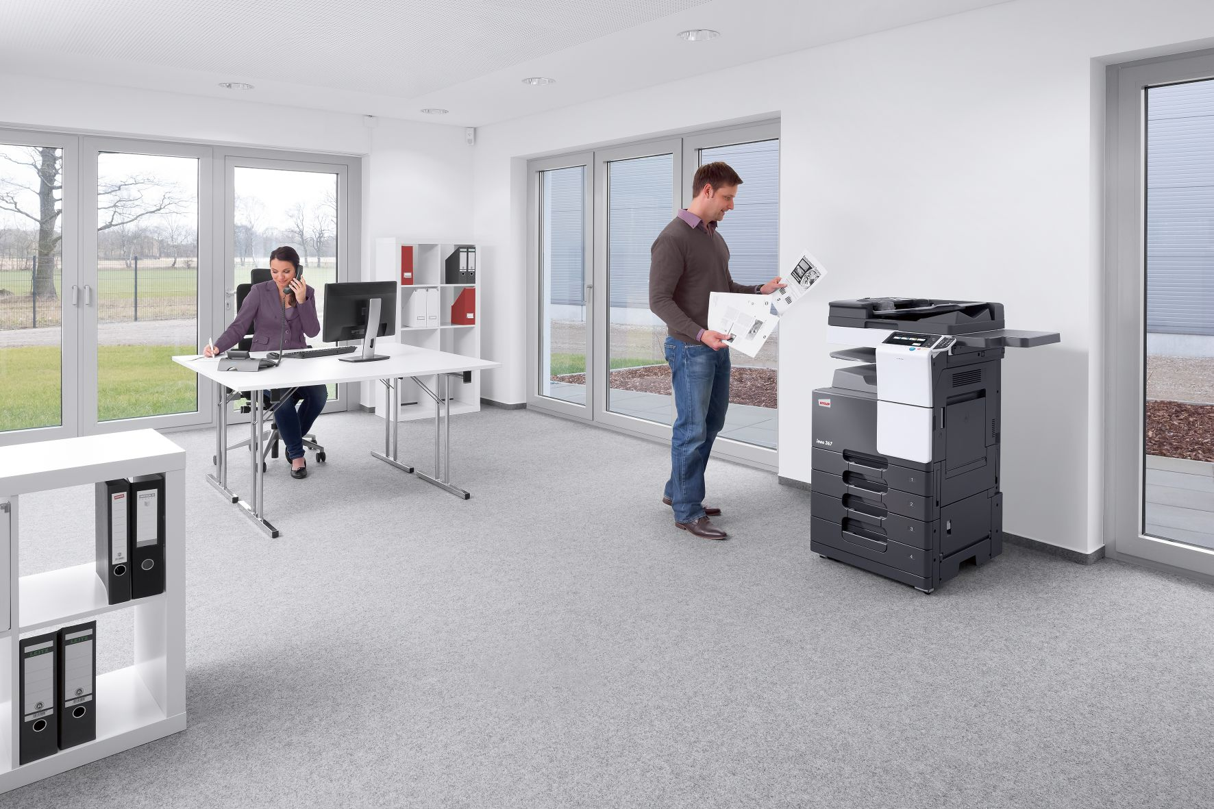 impresora-DEVELOP-oficina